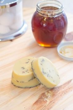 These DIY Honey Lavender Bath Melts are amazing! My skin is silky smooth and the lavender relaxes my muscles. #DonVictorHoney [ad]