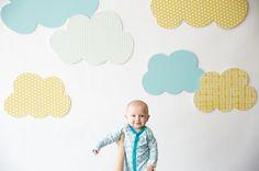 Resultado de imagen de habitacion niño nubes