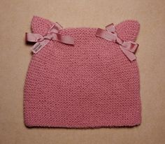 Web Server's Default Page Einfaches - Diy Crafts - hadido Baby Hats Knitting, Knitting For Kids, Easy Knitting, Knitting Stitches, Knitted Hats, Knitting Designs, Knitting Projects, Knitting Patterns, Beanie Babies