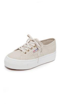 f527fb1df236e Superga 2790 Platform Sneakers Superga Sneakers, Black Heels, Platform Shoes,  Girls Shoes,