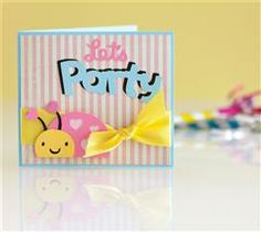 Let the party begin with this adorable little critter invite!