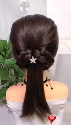 20+ hairstyles for long hair 20+ hairstyles for long hair  #wedding #weddinghairstyles #weddinghair #bridalhair #hairstyles #hair #bridalbeauty #hairstyleideas #hairupdo #hairvideos #hairbun #hairtutorials<br> 1. Waterfall Braid Elegant, relaxed and perfect hairstyle when you are late-what else do you need? If you are good at French weaving, this kind of weaving will be easy. Source: youbeauty 2. TWISTED CROWN BRAID TUTORIAL This one is very suitable for those who have natural curly hair… Formal Hairstyles For Long Hair, Easy Hairstyles For Long Hair, Wedding Hairstyles For Long Hair, Woman Hairstyles, Hairstyle Ideas, Short Hair With Bangs, Long Hair Wedding Styles, Braids For Short Hair, Medium Hair Styles