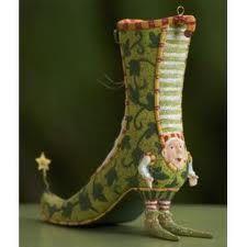 Dept 56 Krinkles By Patience Brewster High Heel Shoe Ornament Hanger Sock Shoes, Shoe Boots, Shoes Heels, Pumps, Flats, Creative Shoes, Unique Shoes, Crazy Shoes, Me Too Shoes