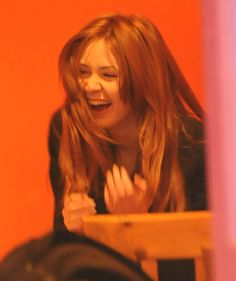 Karen Gillan laughing! (aka Amy Pond)