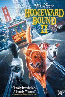 Homeward Bound 2: Lost in San Francisco. The seventy seventh movie in My Disney Movie Marathon.
