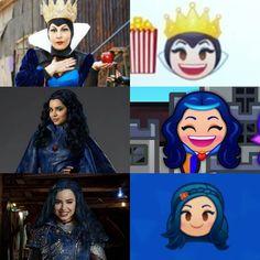 Disney Descendants Characters, Descendants 2015, Fictional Characters, Arte Disney, Disney S, Disney Princess, Emoji, Science Crafts, Decendants