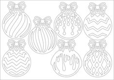 Фотографии Вытынанки шаблоны трафареты снежинки Christmas Stencils, Christmas Wood, Christmas Balls, Kids Christmas, Christmas Crafts, Christmas Ornaments, Colouring Pages, Coloring Pages For Kids, New Years Decorations