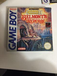 CASTLEVANIA 2 II BELMONT S REVENGE GAMEBOY PAL ESPAÑA COMPLETO ERBE Game Boy