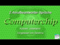 Unser Computer Lebt   2 Anrufbeantworter Sprüche, Die Man Am Besten Nur  Privat Benutzt ... Oder Auch Nicht Hihi ; ) Autoren: Unbekannt Gesprochen  Von ...