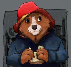 Paddington Bear, Brown Bear, Scooby Doo, David, Fictional Characters, Art, Art Background, Kunst, Performing Arts