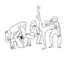 kitsunezakuro:  Draw the squad likeMy DeviantART