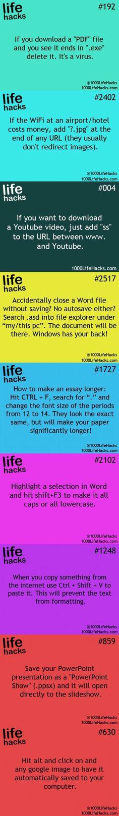 Life hacks 1000: