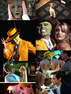 The Mask (1994) - Jim Carrey, Cameron Diaz - A comic action thriller which tells a story of  a shy bank clerk who undergoes an astounding transformation whenever he puts on a particular mask. Hugely entertaining with a message. A must see movie.