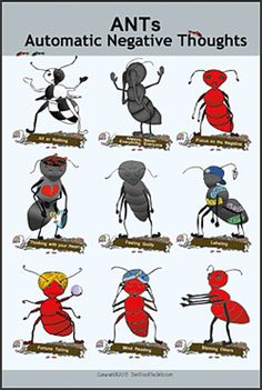 Showing all nine ANTs, the poster is available in two sizes.