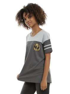 Fantastic Beasts And Where To Find Them M.A.C.U.S.A Girls Athletic T-Shirt, BLACK