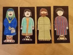 A memory/matching folder activity that will help your students become more familiar with the apostles.