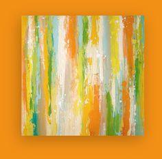 Original Painting Abstract Modern Acrylic on by OraBirenbaumArt, $365.00