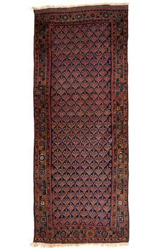 Baluch Timuri 2.92 x 1.17 m Circa 1890 I Perryman Carpets