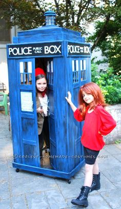 Coolest Homemade Doctor Who and TARDIS Costume ... This website is the Pinterest of costumes