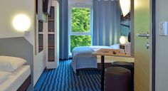 Dreibettzimmer im B&B Hotel Konstanz