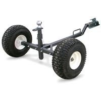This Tow Tuff ATV Weight-Distributing Dolly makes it easy to move move trailers, implements, fish houses and other towables with your ATV. Atv Implements, Moving Dolly, Trailer Dolly, Atv Trailers, Dump Trailers, Atv Accessories, Fish House, Four Wheelers, Utility Trailer