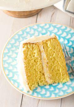 Best Lemon Buttermilk Cake (Video) - A Spicy Perspective Lemon Buttermilk Cake Recipe, Best Lemon Cake Recipe, Lemon Cream Cake, Cream Cheese Pound Cake, Pound Cake Recipes, Easy Cake Recipes, Sweet Recipes, Dessert Recipes, Fun Recipes