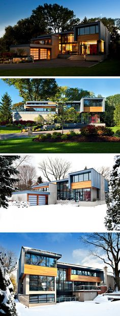 Altius Architecture have designed the Thorncrest House in Etobicoke, Ontario, Canada.