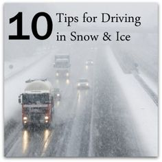 10 Tips For Driving in Ice & Snow - Successful Homemakers