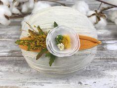 Hey, I found this really awesome Etsy listing at https://www.etsy.com/listing/475923369/dainty-white-flower-tiebackmustard