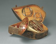 "A ""cor solo"", what Americans call a ""Double French Horn"". France, 1850-1855. The Metropolitan Museum of Art"