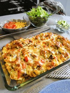 Swedish Recipes, Mexican Food Recipes, Dinner Recipes, Keto Recipes, High Fat Diet, Beef Dishes, Quick Meals, Casserole Dishes, Vegetable Pizza