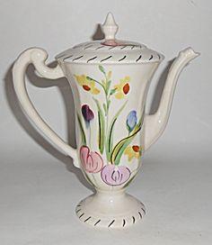 Southern Potteries Blue Ridge Pottery chocolate pot