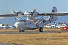 Consolidated PBY-5A Canso on Kilo 6, Paine Field, Everett, Wa.