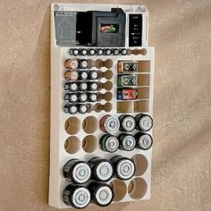 Awesome The Convenient Battery Organizer With Tester Stores Up To 66 Batteries Of  All Sizes, Plus Has A Built In Tester. This Battery Storage Center Is  Compactly ...