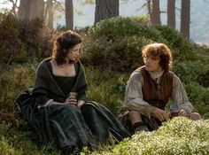 S1 Ep6 - The Garrison Commander - Jamie and Claire - screencap