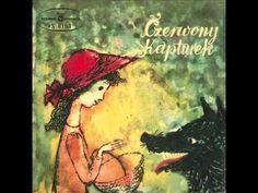 Czerwony Kapturek - Bajka dla dzieci Charles Perrault, My Childhood Memories, Red Riding Hood, Vinyls, Little Red, Alice In Wonderland, Fairy Tales, Painting, Vintage