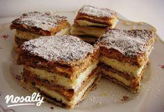 Réteges kakaós-fahéjas krémes | Nosalty Hungarian Cake, Hungarian Recipes, Hungarian Food, Sweet Recipes, Cake Recipes, Cracker Toffee, Homemade Crackers, Fast Food Restaurant, Creative Cakes