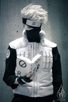 Manga Kakashi cosplay ( Naruto )