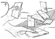 Rough study sketch on Behance