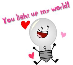 Lightbulb Valentine by TheTGrodz on DeviantArt