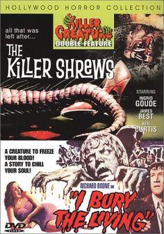 The Killer Shrews: I Bury the Living - DVD.