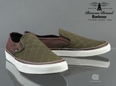 Barbour x Vans Classic Slip-on CA | The Style Dealer