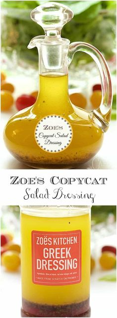 If you've never been to Zoe's Kitchen, you'll flip over this delicious dressing. It takes just minutes to throw together!