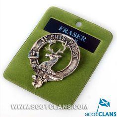 Fraser Clan Crest Ba