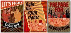 Luke Wilson Digital Portfolio: Revolution Posters