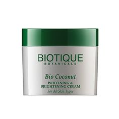 Biotique Botanicals Bio Coconut Whitening and Brightening Cream, 1.9 Ounce ** Check this awesome product by going to the link at the image.