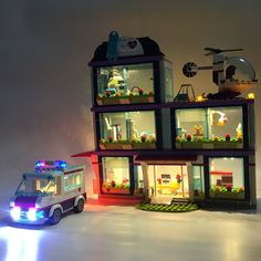 LED Light Up kit For Lego Friends Series 41318 and 01039 Heart Lake Love Hospital Building Kits Blocks (not include the house) Lego Hospital, Buy Led Lights, Lego Kits, Friends Series, Led Light Kits, Countries Around The World, Lego Friends, Model Building, House Prices
