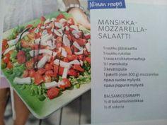 Mansikka mozzarella tai vuohenjuusto tomaatti salaatti Maaritin synttärit - balsamicosiirappi valmistus 0,5 dl balsamiviinietikka 0,5 dl sokeri kiehauta 2 min