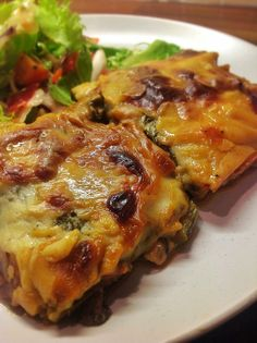 Cabbage, Mushroom and Spinich Lasagne - Pasta free