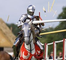 This week-end, watch a medieval joust at Eltham Palace.  More info: http://www.english-heritage.org.uk/daysout/events/grand-medieval-joust-Elt-21-06-2014/